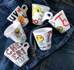 Кофейные чашки серии Funny