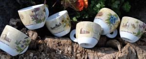 Кофейные чашки серии Italia Fiorita